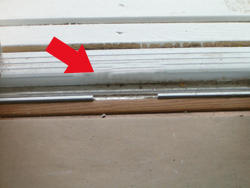 Window service and repair illinois window service this patio door sil would cause an inspection to fail planetlyrics Images